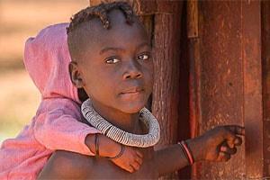 девочка маленькая химба
