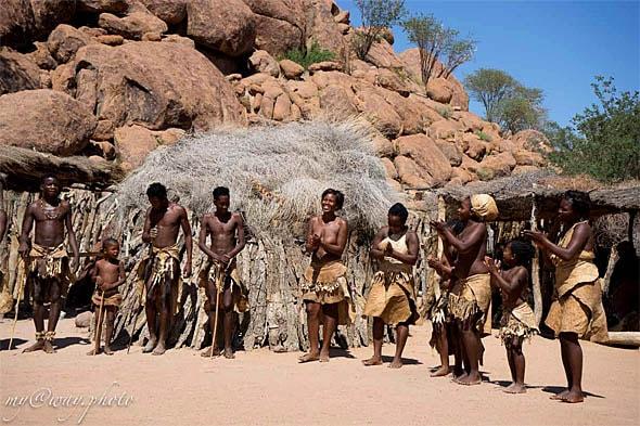 живой музей племени дамара