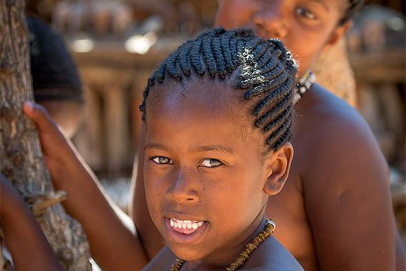 племена первых жителей намибии