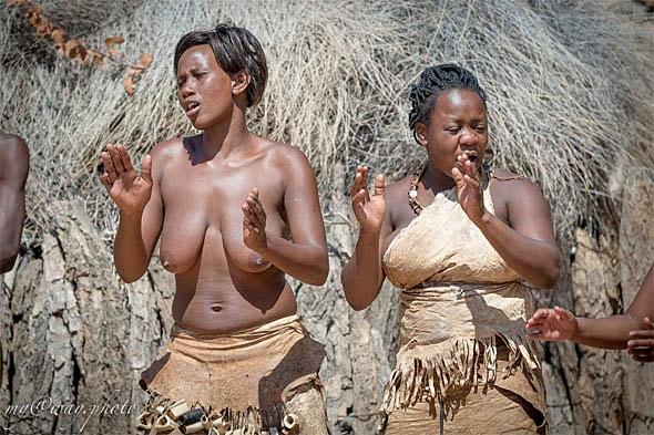 песни и пляски племени дамара намибия