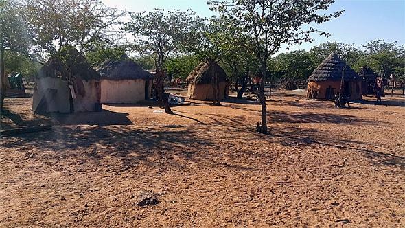 поселение племени химба