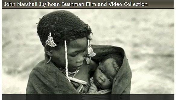 джон маршалл видеоматериалы про жизнь бушменов племени  дзу хоанси