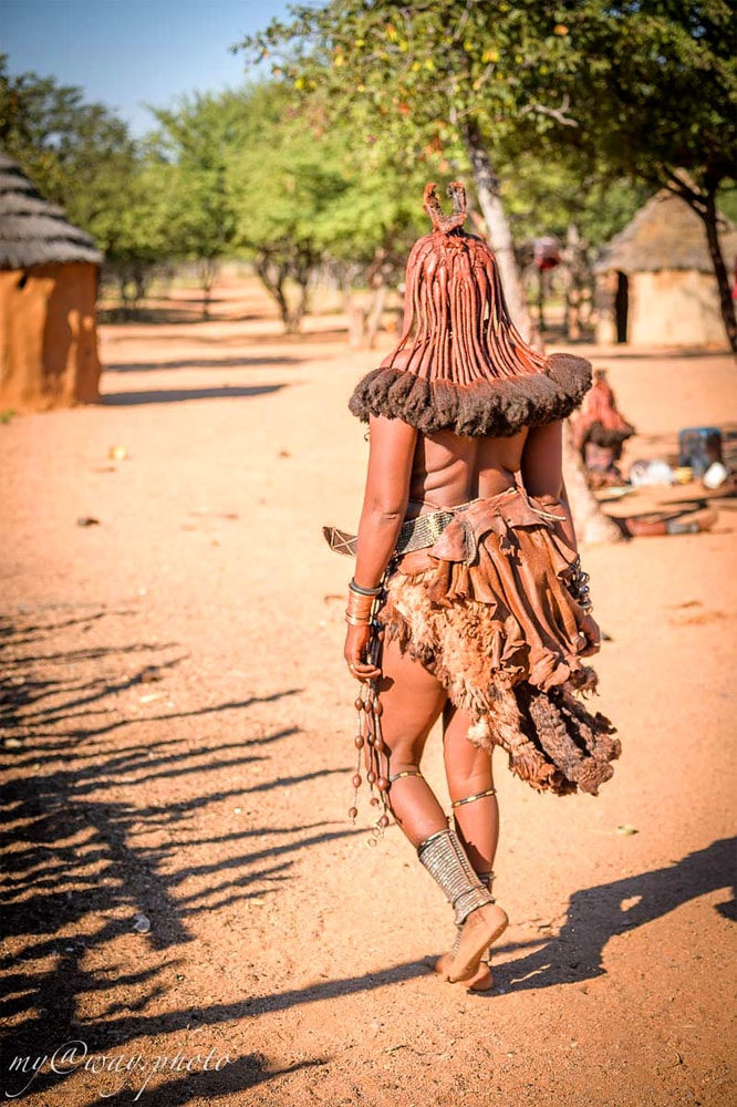 племя химба намибийская экзотика и символ страны
