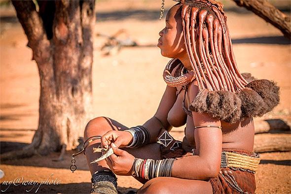 древнее и удивительное племя химба