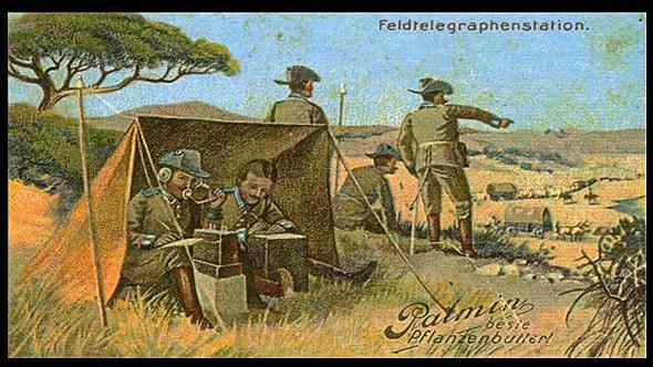 восстание гереро противостоящие им немецкие военные силы