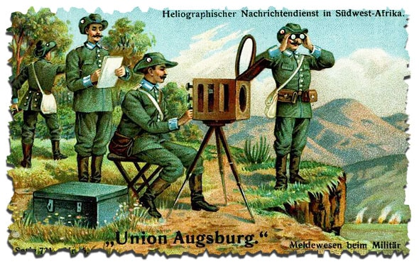 оптический аппарат гелиограф