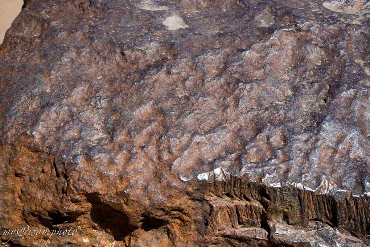метеорит гоба крупным планом