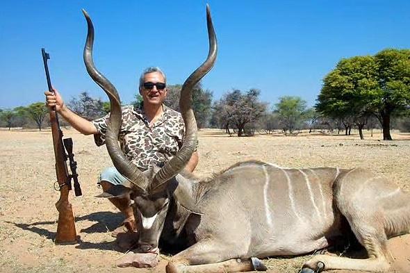 трофейная охота в намибии