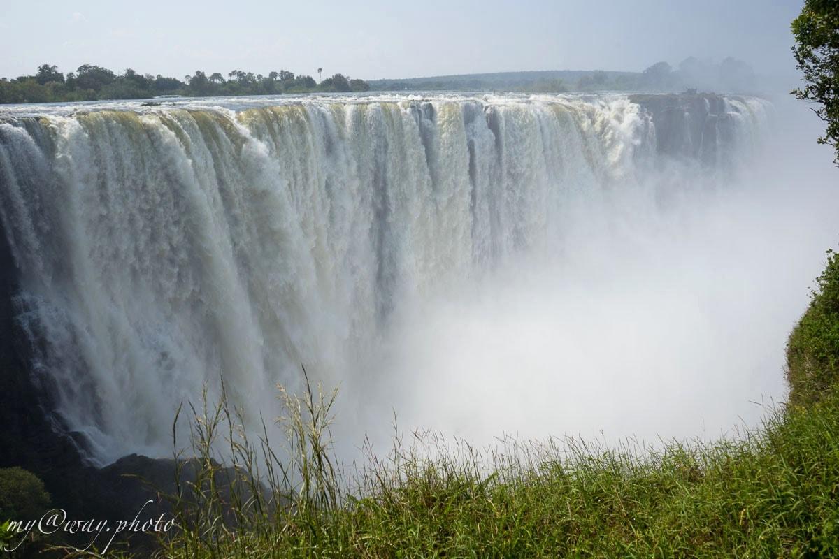 мощная водная лавина виктория фоллс