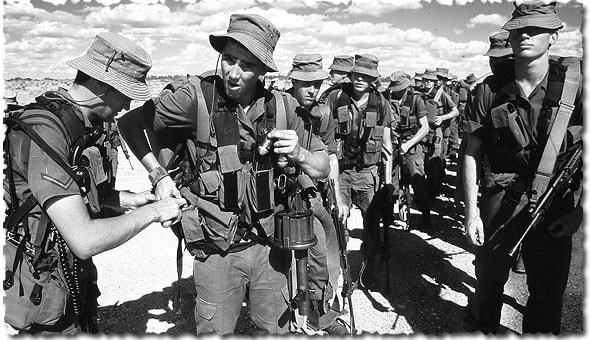 участники военных действий пограничной войны