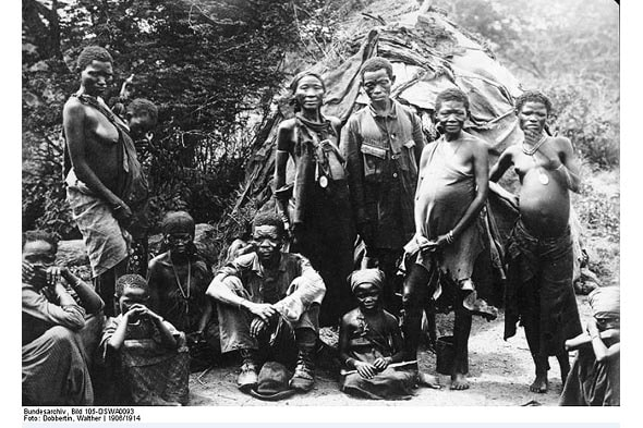 семья племени нама