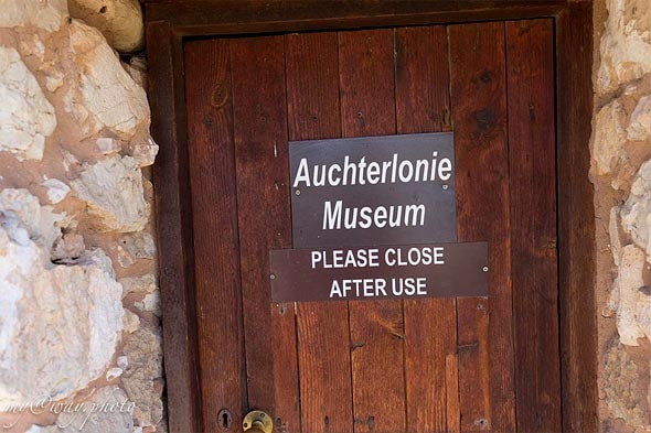 вход в музей auchterlonie
