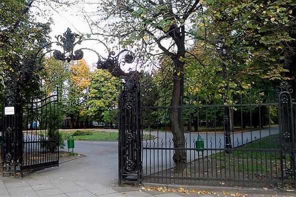 ограда городского сада липки