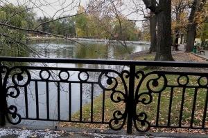мостик в городском парке саратова