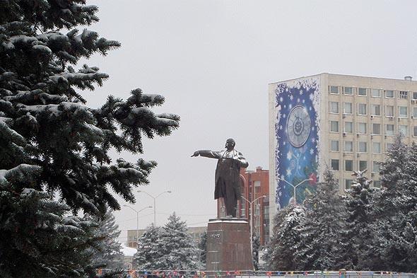 саратов памятник ленину