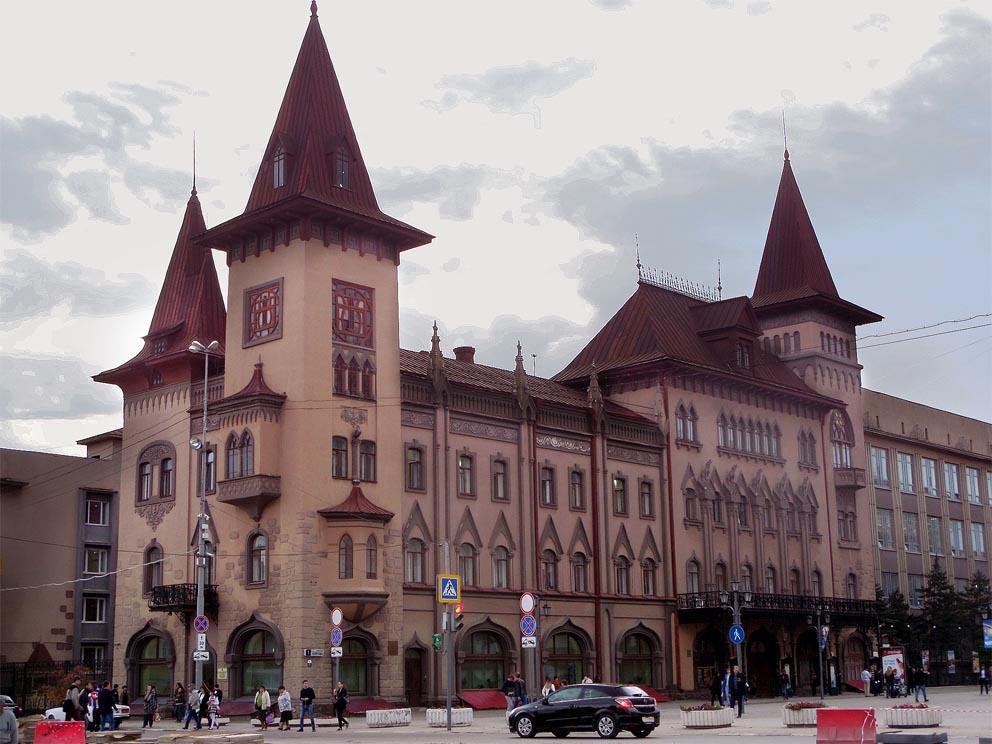в здании консерватории 26 октября 1917 года была провозглашена советская власть