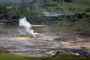 фото кальдера вулкана узон