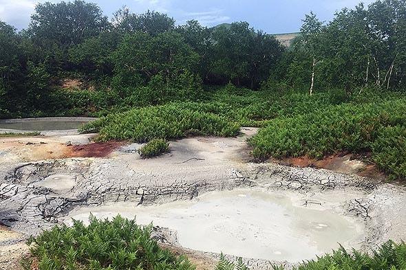глиняные котлы кальдера вулкана узон настоящие природные ловушки