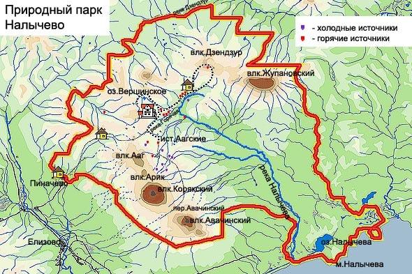 природный парк налычевская долина