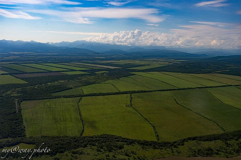 окрестности петропавловска-камчатского с воздуха