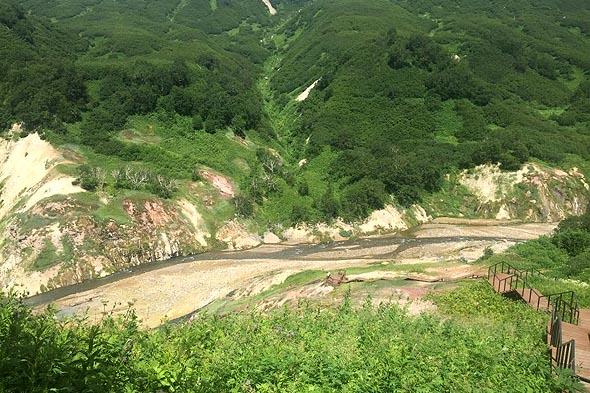 по дорожкам долины гейзеров камчатка