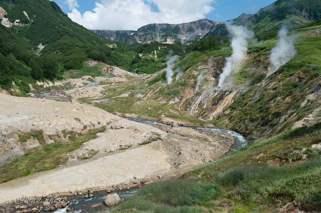 удивительная речка гейзерная