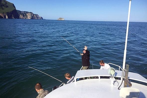 морская рыбалка на камбалу в авачинской бухте