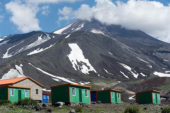 турбаза у подножия авачинского перевала