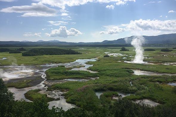кальдера вулкана узон полигон опытов природы