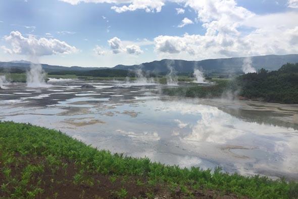 кальдера вулкана узон термофильные микроорганизмы