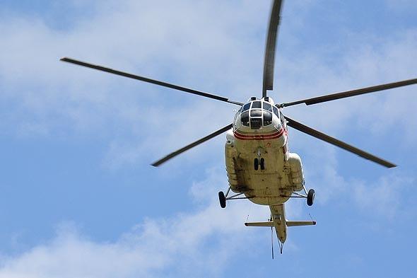 вертолетный перелет в природный парк налычево