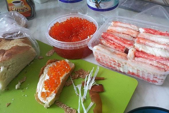 волшебный завтрак по камчатски