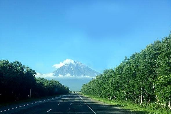 виды на вулканы петропавловска камчатского