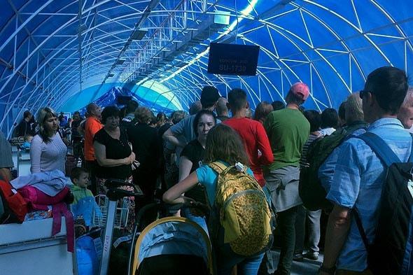 выдача багажа в Петропавловске-Камчатском