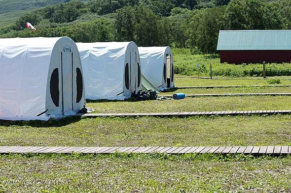 большие канадские палатки курильское озеро