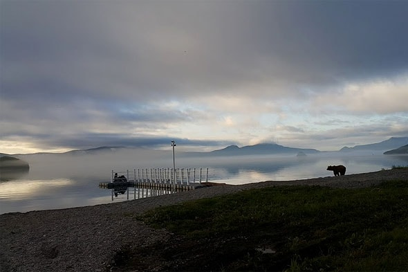 серебряные берега курильского озера