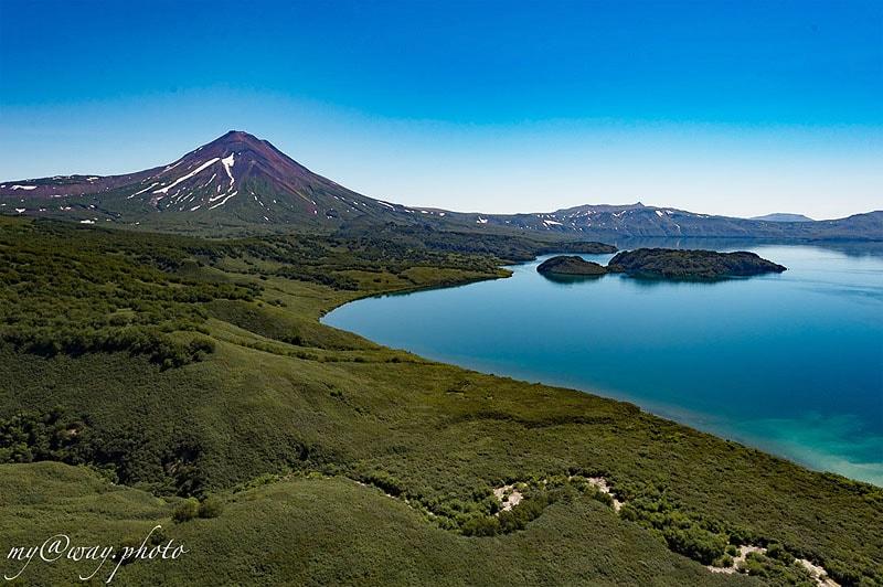 извержение вулкана дало начало курильскому озеру