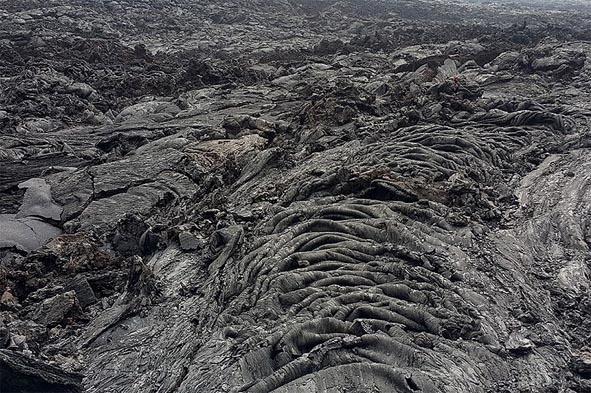 невероятные формы толбачинской лавы