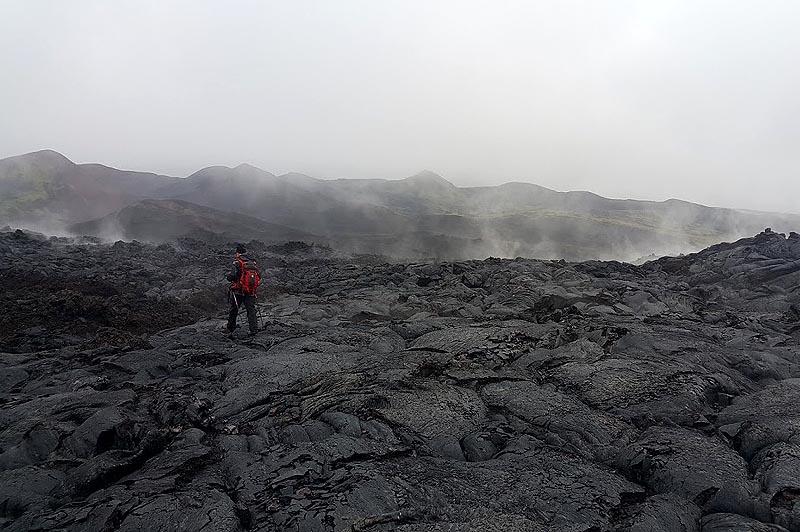 трещинное толбачинское извержение 2012 года
