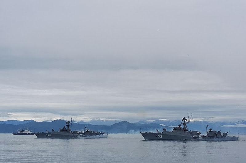 малые противолодочные корабли мпк 82 и мпк 107