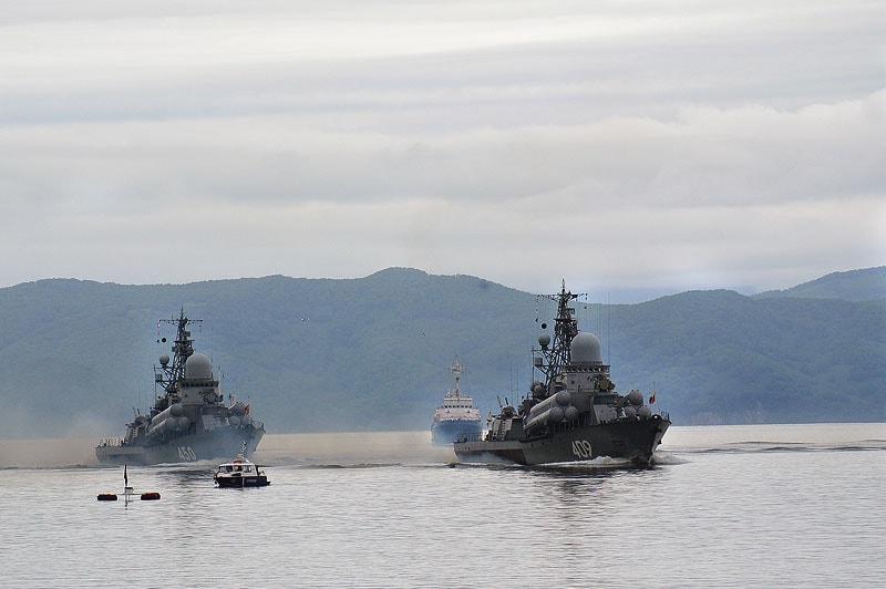 малые ракетные корабли разлив и мороз