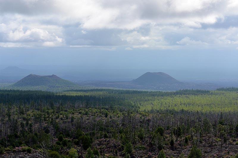 северный прорыв большого трещинного толбачинского извержения