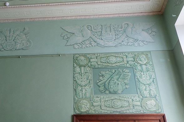 снова юсуповские гуси в интерьерах большого дома усадьба ахангельское