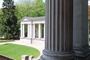 колоннада в усадьбе архангельское