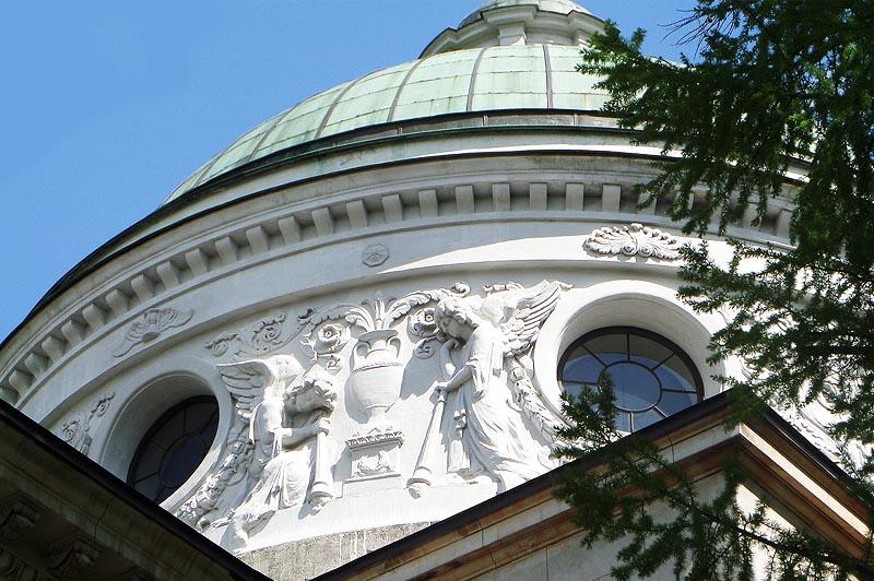 усадьба архангельское колоннада барабан купола фрагмент