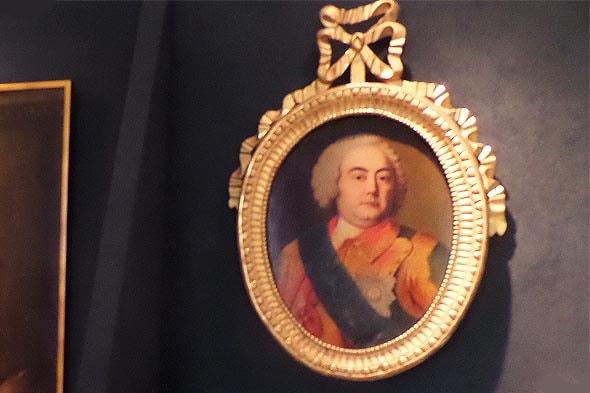 портрет бориса Григорьевича юсупова в усадьбе архангельское