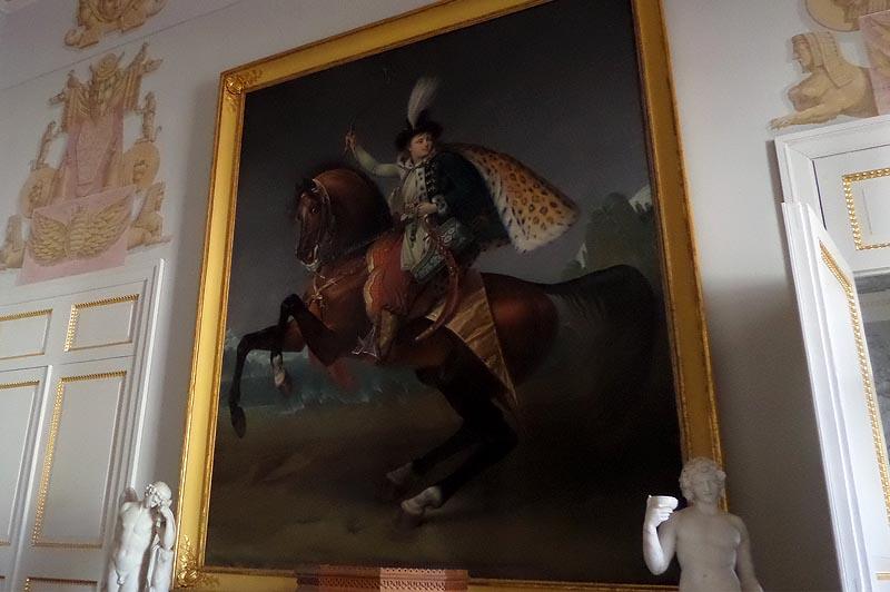 портрет в большом доме  в архангельском борис николаевич юсупов в возрасте 15 лет