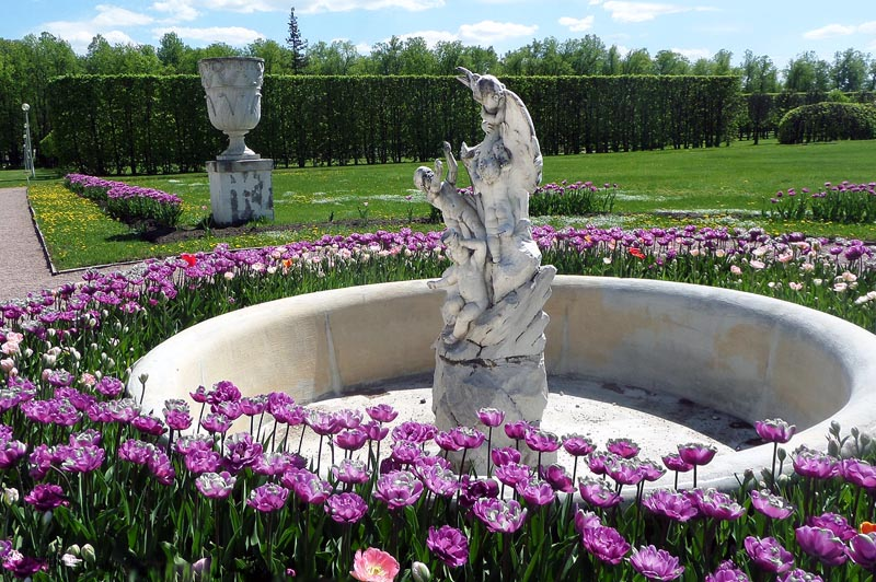 фонтан в усадьбе арангельское