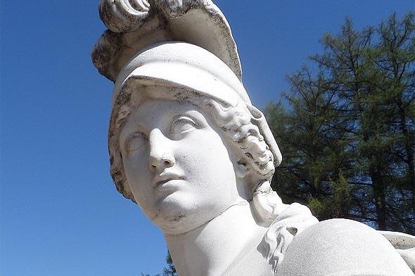 голова парковой скульптуры архангельское
