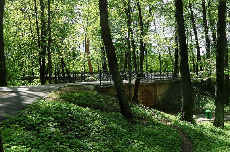 мостик в усадьбе архангельское